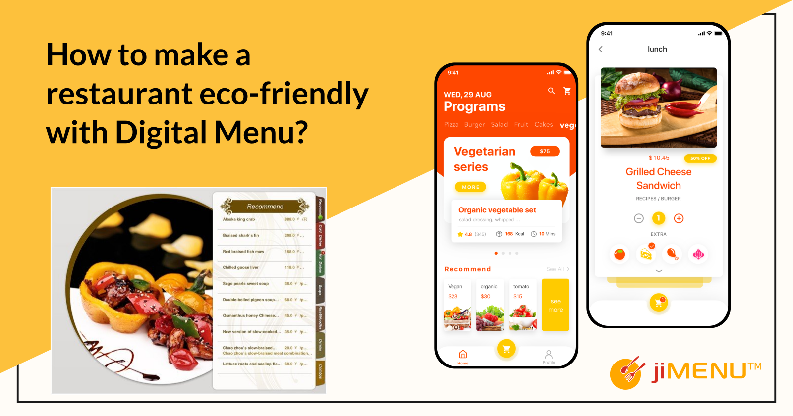 How To Make A Restaurant Eco-friendly With Digital Menu?