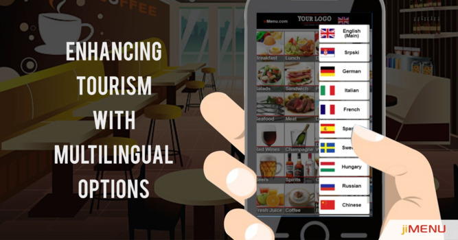 How Digital Menu Overcomes the Multi-Language Issues In Tourism