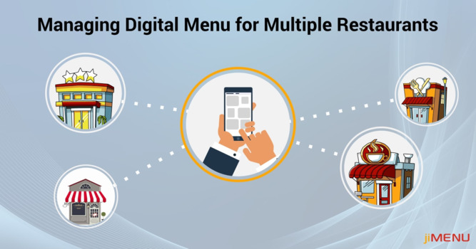 Efficiently Managing Digital Menu Content Across Multiple Locations