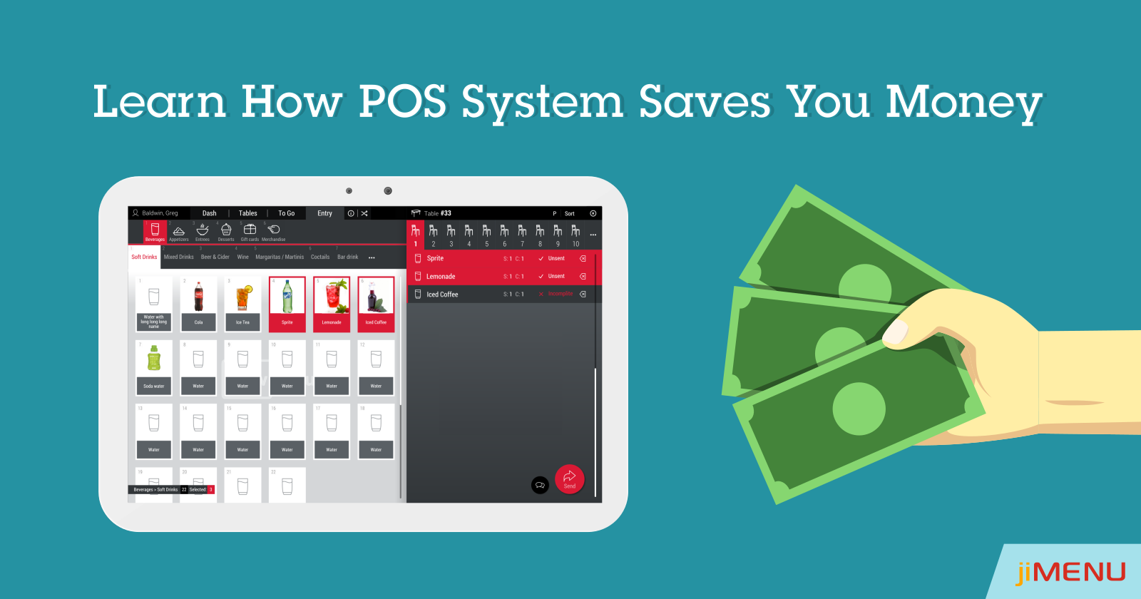 How Restaurant POS System is Saving You Money