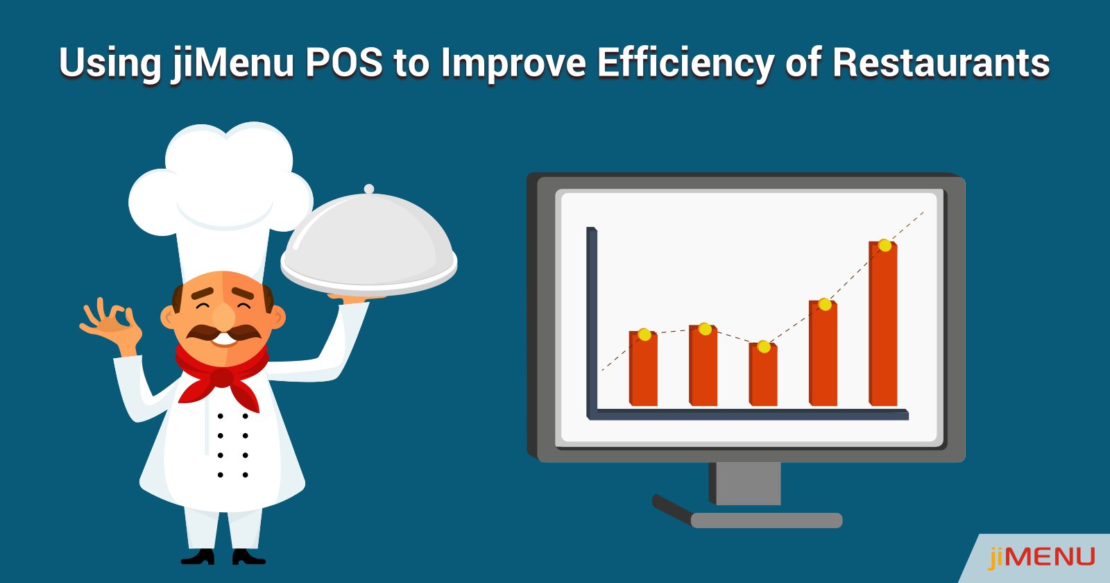 Using jiMenu POS to Improve Efficiency of Restaurants