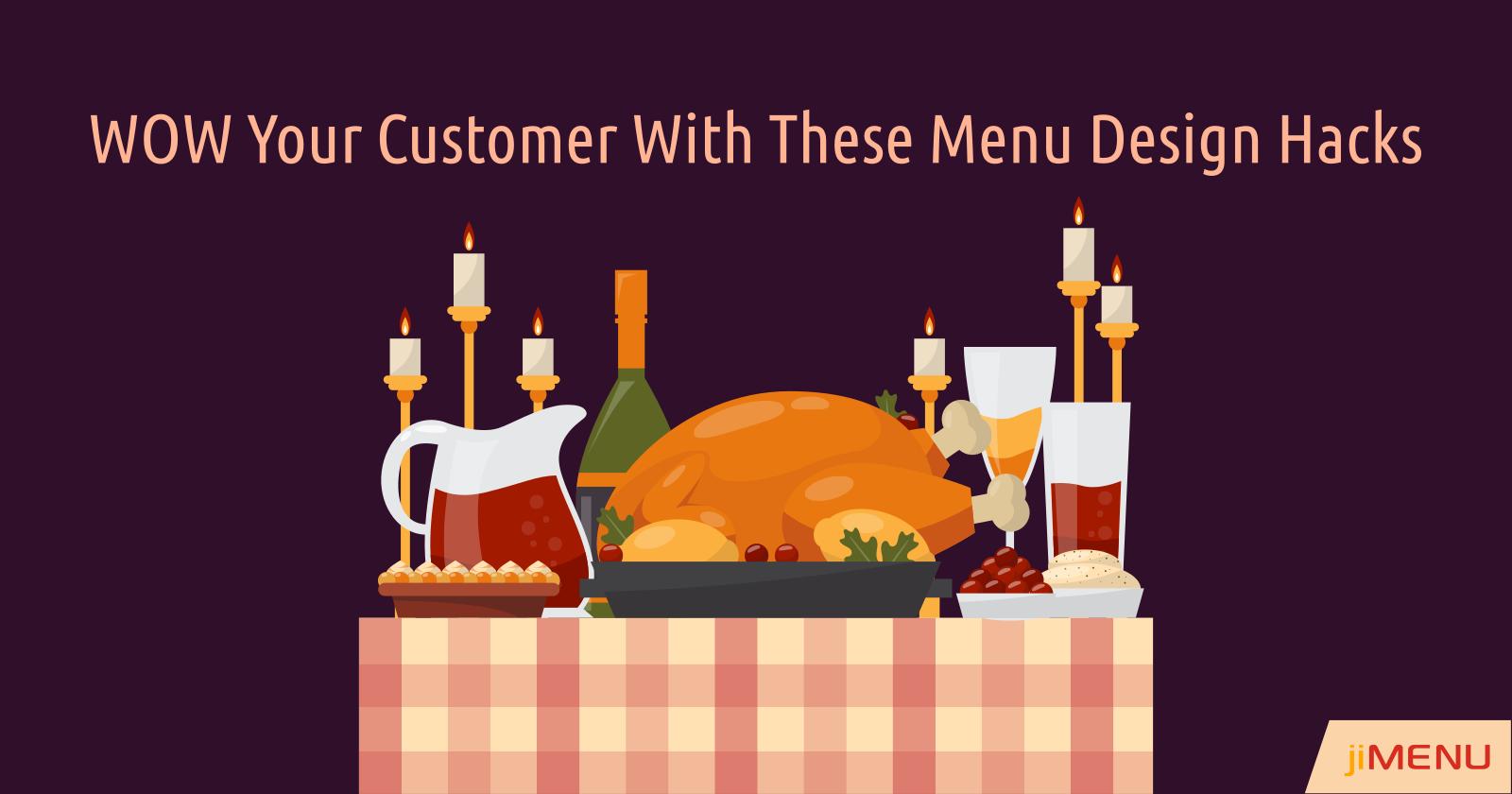 Top Menu Design Tips to Create a Great Menu