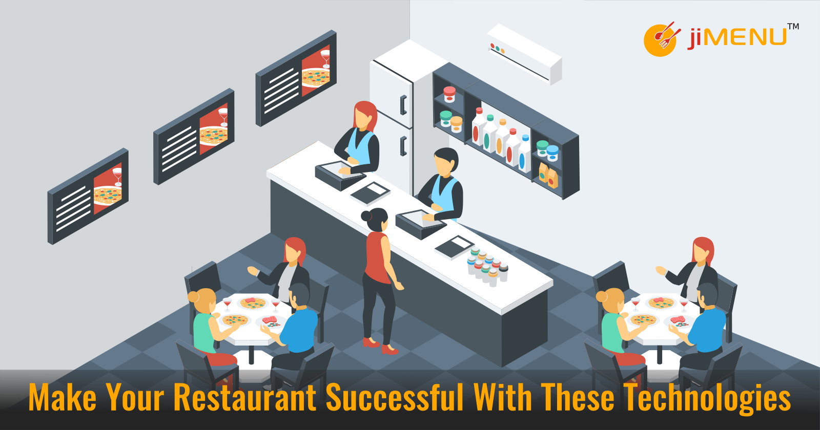 Make Your Restaurant Successful With These Technologies