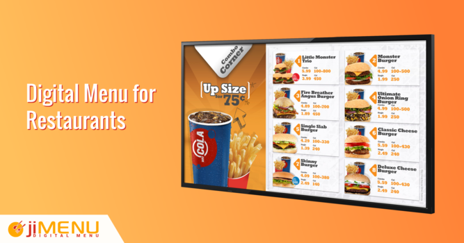 Why You Must Implement Digital Menu for Restaurants