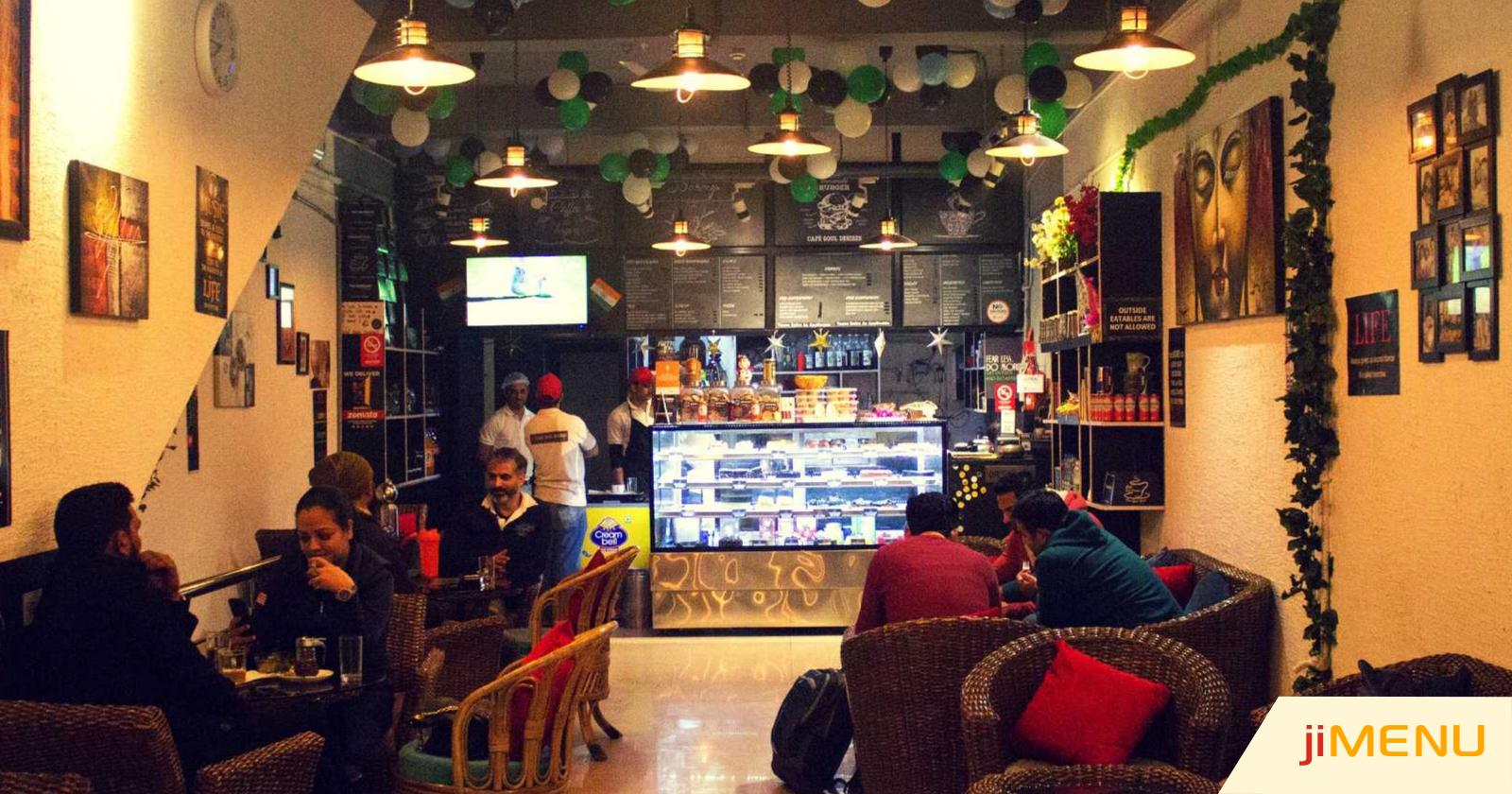 Cafe Souls Desires' Transforms its Restaurant Menu with jiMenu POS