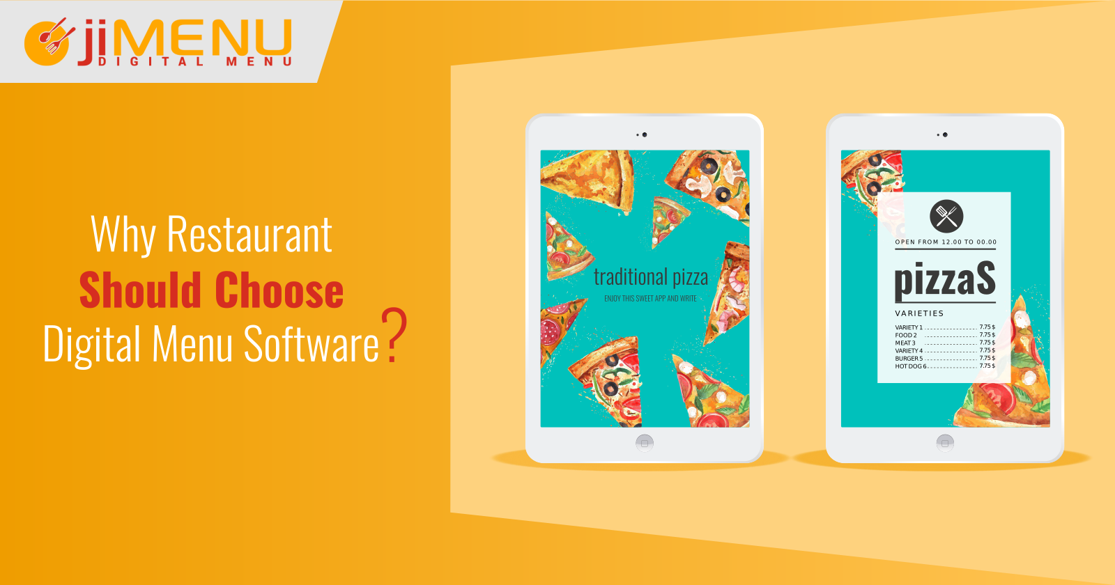 Why Restaurant Should Choose Digital Menu Software?