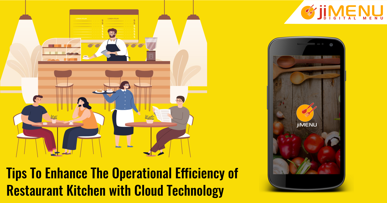 Tips To Enhance The Operational Efficiency of Restaurant Kitchen with Cloud Technology