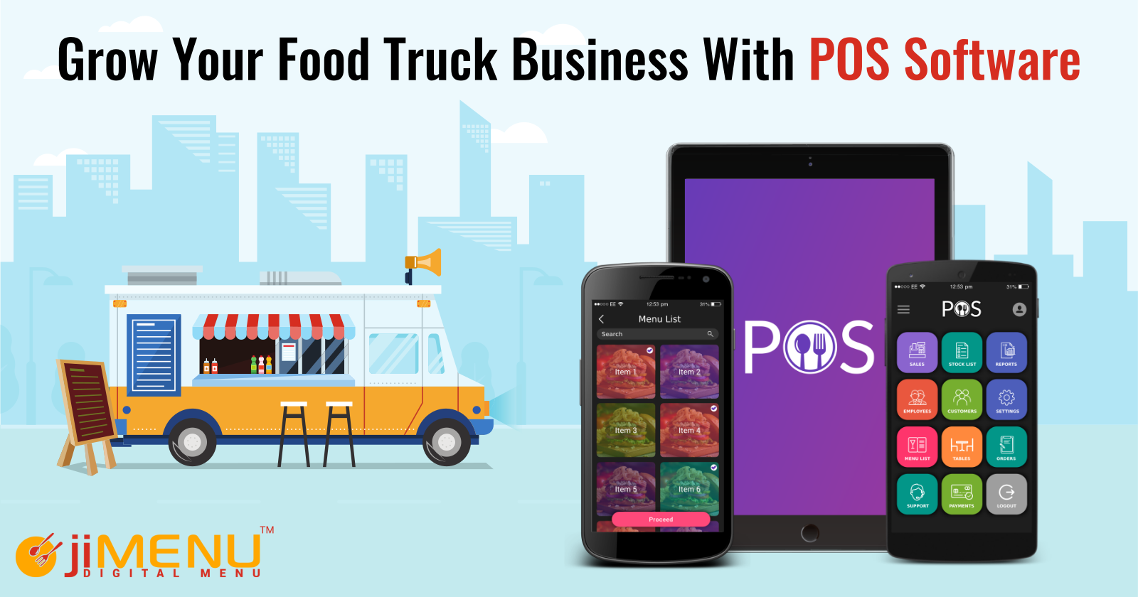 Grow Your Food Truck Business With POS Software