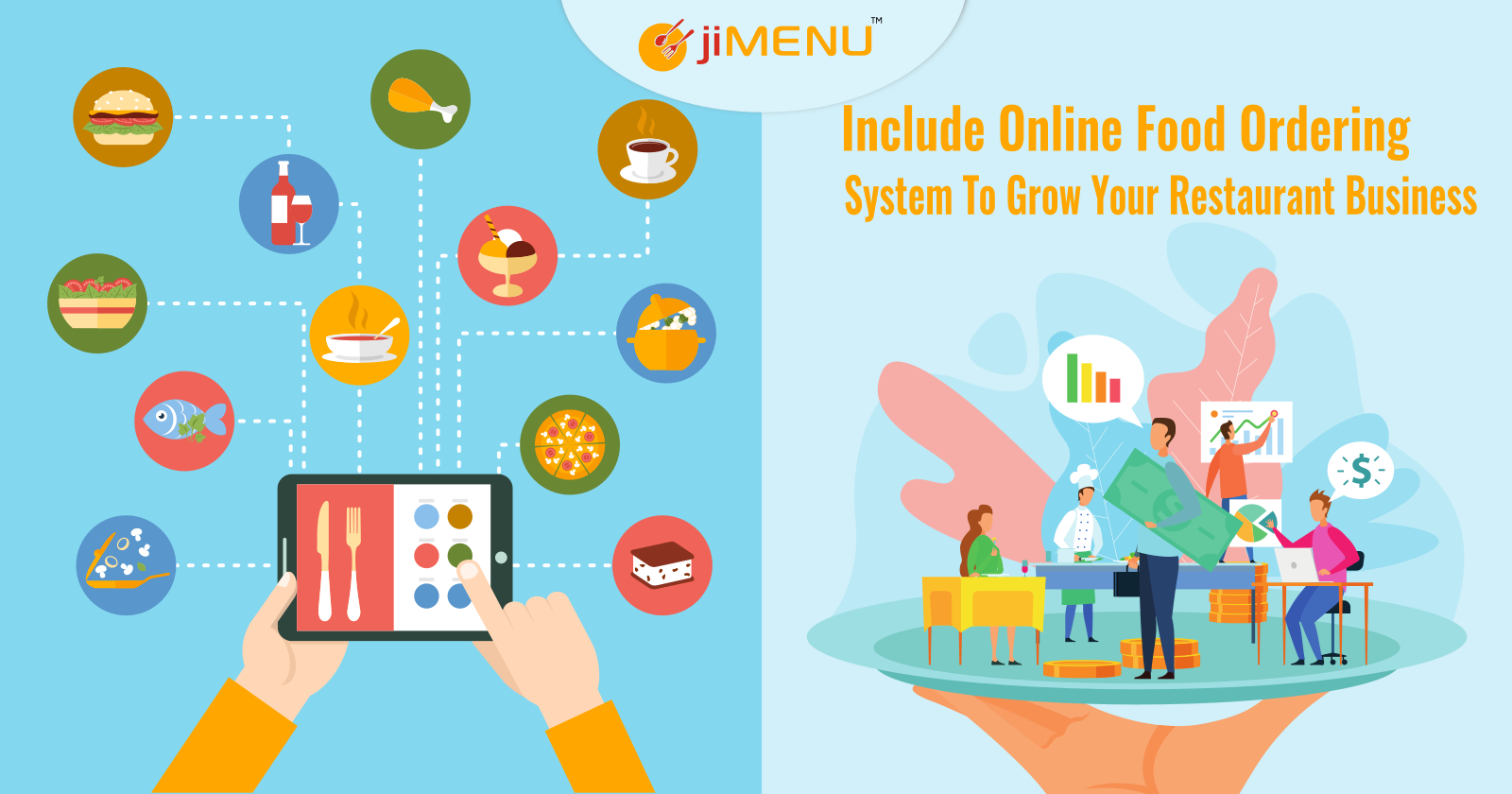 Include Online Food Ordering System To Grow Your Restaurant Business