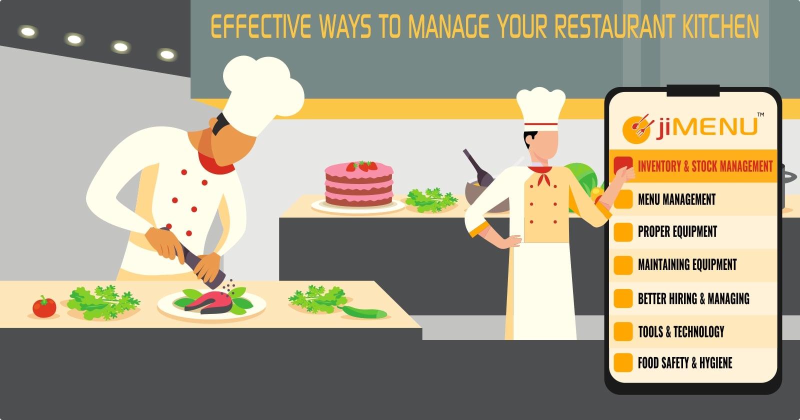 Kitchen Management: The Best Ways to Manage to Your Restaurant Kitchen