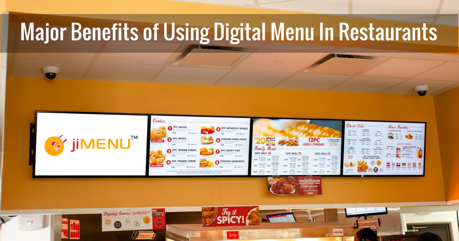 10 Major Benefits of Using Digital Menu In Restaurants